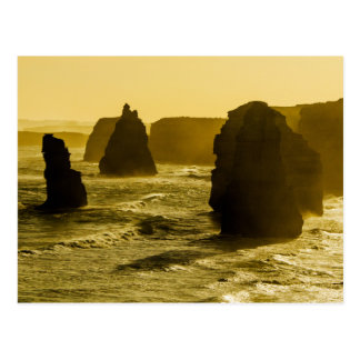 Carte Postale Douze apôtres sur la grande route d'océan