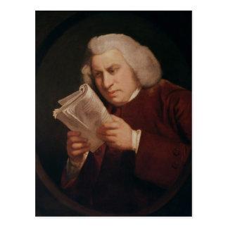 Carte Postale Dr. Samuel Johnson 1775