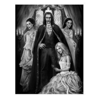 Carte Postale Dracula et ses dames