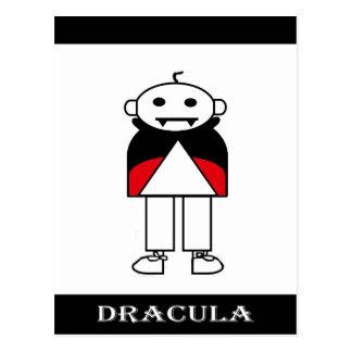 Carte Postale Dracula (famille de bâton)