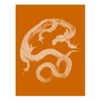 Carte Postale Dragon de Hokusai