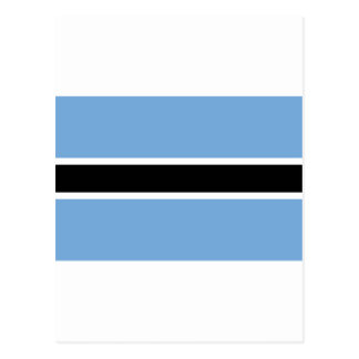 Carte Postale Drapeau BW du Botswana