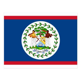 Carte Postale Drapeau de Belize