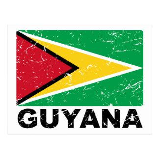 Carte Postale Drapeau de cru de la Guyane