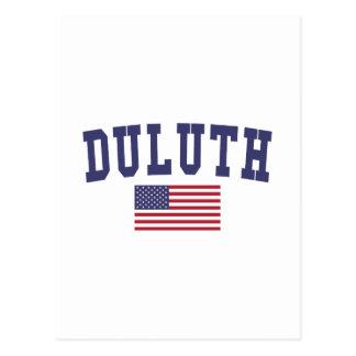 Carte Postale Drapeau de Duluth USA