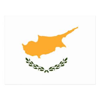 Carte Postale Drapeau de la Chypre