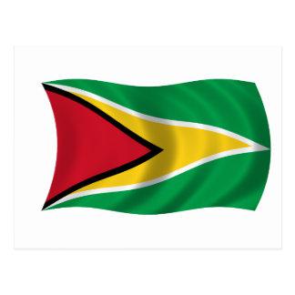 Carte Postale Drapeau de la Guyane