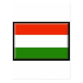 Carte Postale Drapeau de la Hongrie