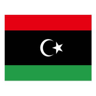 Carte Postale Drapeau de la Libye
