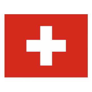 Carte Postale Drapeau de la Suisse