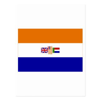 Carte Postale Drapeau de l'Afrique du Sud (1928-1994)