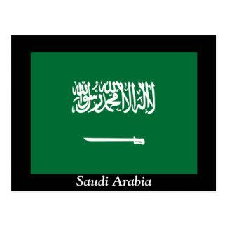 Carte Postale Drapeau de l'Arabie Saoudite