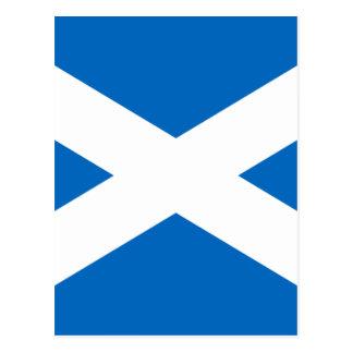 Carte Postale Drapeau de l'Ecosse - drapeau écossais