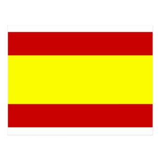 Carte Postale Drapeau de l'Espagne