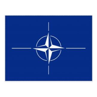 Carte Postale Drapeau de l'OTAN