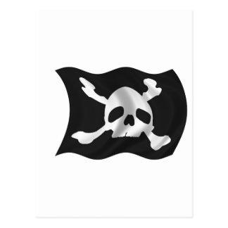 Carte Postale Drapeau de pirate