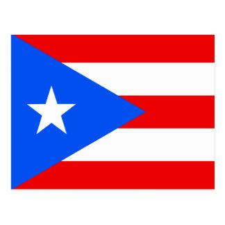 Carte Postale Drapeau de Porto Rico