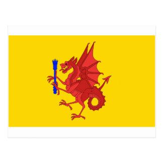 Carte Postale Drapeau de Somerset