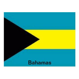 Carte Postale Drapeau des Bahamas