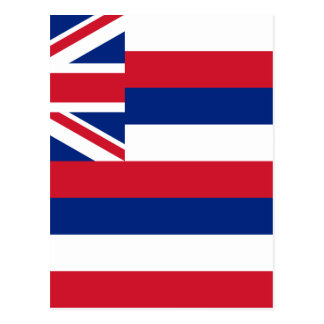 Carte Postale Drapeau d'Hawaï, ka Hae Hawaiʻi