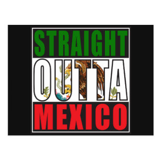 Carte Postale Drapeau droit d'Outta Mexique
