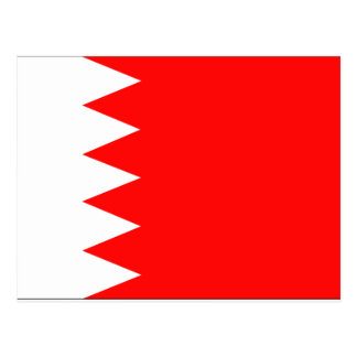 Carte Postale Drapeau du Bahrain