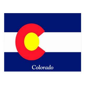 Carte Postale Drapeau du Colorado