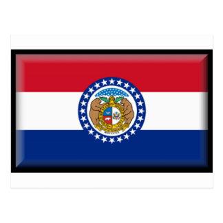 Carte Postale Drapeau du Missouri