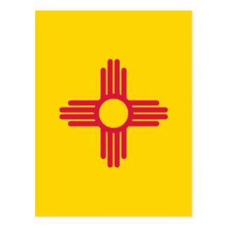 Carte Postale Drapeau du Nouveau Mexique