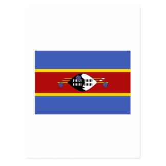 Carte Postale Drapeau du Souaziland
