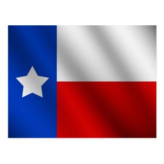 Carte Postale Drapeau du Texas