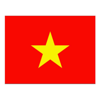 Carte Postale Drapeau du Vietnam