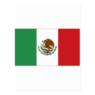 Carte Postale Drapeau national du Mexique