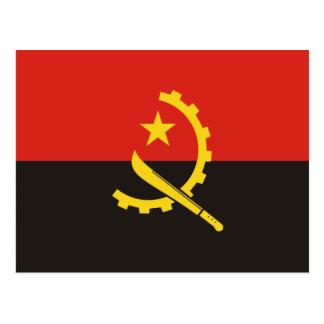 Carte Postale Drapeau national du monde de l'Angola