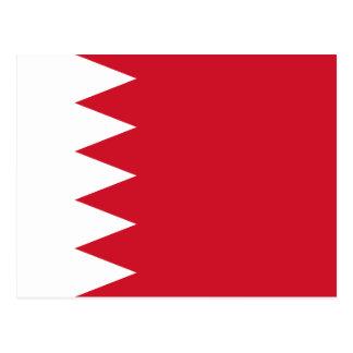 Carte Postale Drapeau national du monde du Bahrain