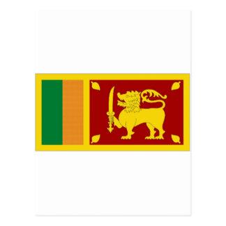 Carte Postale Drapeau national du Sri Lanka