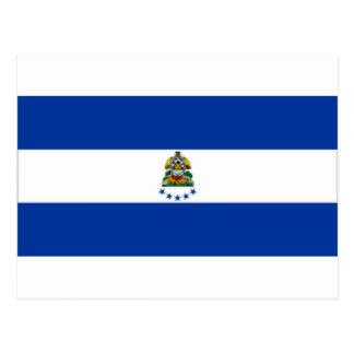 Carte Postale Drapeau naval du Honduras