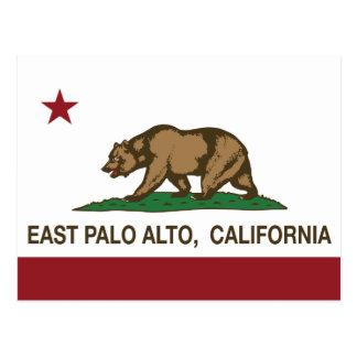 Carte Postale Drapeau Palo Alto est d'état de la Californie
