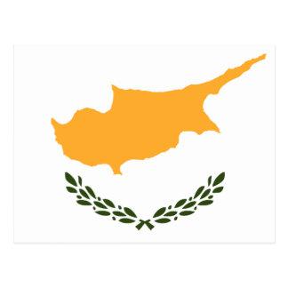 Carte Postale Drapeau patriotique de la Chypre