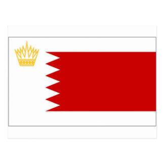 Carte Postale Drapeau standard royal du Bahrain