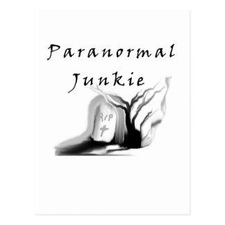 Carte Postale Drogué paranormal