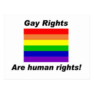 Carte Postale Droits de l'homme