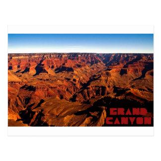 Carte postale du canyon grand