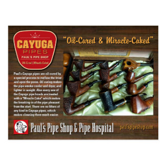 Carte postale du Cayuga de Paul