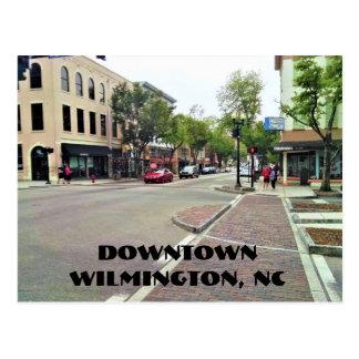 Carte postale du centre de Wilmington la Caroline
