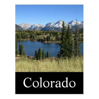 Carte postale du Colorado