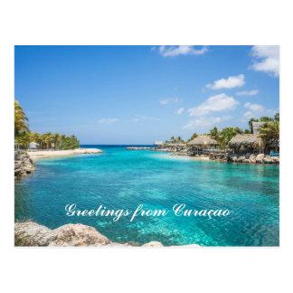 Carte postale du Curaçao