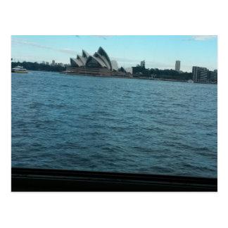 Carte postale du théâtre d'opéra de Sydney