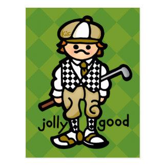 carte postale du vert de mise