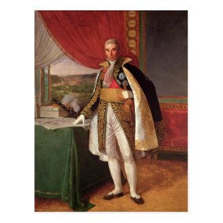 Carte Postale Duc d'André Massena de maréchal de Rivoli, 1814